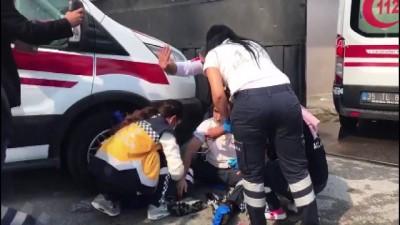 itfaiye araci - İzmir Adliyesinde gaz kaçağı (2)