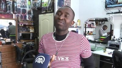 kuafor salonu - Afrika'dan okumaya geldi, Ankara'da kuaför salonu açtı