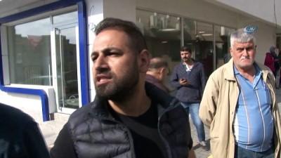 guvenlik onlemi -  Ataşehir'de yol çöktü
