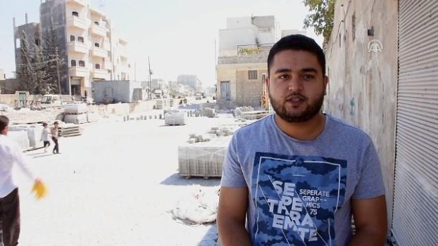 muhalifler - Azez ilçesindeki yollara kilit taşı döşeniyor - AZEZ