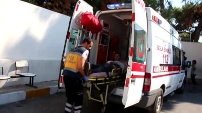 Bodrum'da depoda havai fişek patladı: 1 yaralı - MUĞLA