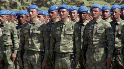 Cumhurbaşkanı Erdoğan: 'Çok yakında bugün brövelerini takan komandolarımızla Fırat'ın doğusundaki terör yuvalarını da darmadağın edeceğiz'