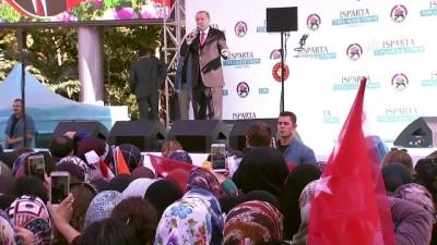 Cumhurbaşkanı Erdoğan: 'Türkiye'nin geleceğinde terör örgütlerine yer yoktur' - ISPARTA