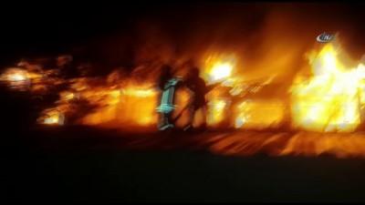 itfaiye eri -  Denizli'de korkutan otel yangını... Alevlere teslim olan otel kullanılamaz hale geldi
