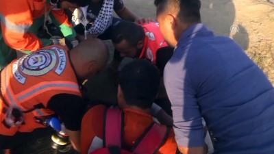 Gazze'deki barışçıl gösterilerde 6 Filistinli şehit oldu - GAZZE