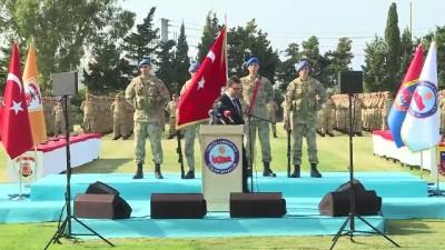 İçişleri Bakanı Soylu, Foça Jandarma Komando Okul Komutanlığı Sözleşmeli Subay mezuniyet törenine katıldı - İZMİR