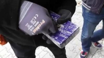 kopek - Otomobilde 79 kilogram eroin ele geçirildi - DÜZCE