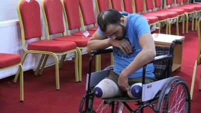 hava saldirisi - Savaşta uzuvlarını kaybedenlere yardım eli - KİLİS
