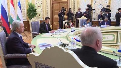 Tacikistan'da ŞİÖ 17. Hükümet Başkanları Zirvesi - BİŞKEK