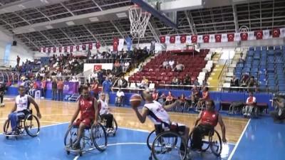 2. Uluslararası Mersin Engelsiz Sanat Festivali - Tekerlekli sandalye basketbol maçı - MERSİN