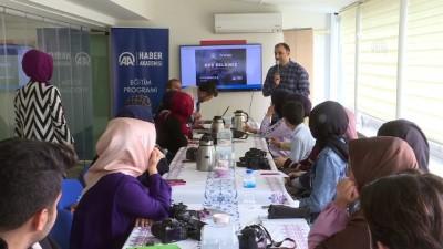 AA'dan ÖNDER'li gençlere fotoğrafçılık eğitimi - İSTANBUL