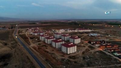 Afyonkarahisar FETÖ cezaevinde sona doğru...Çalışmalar havadan görüntülendi