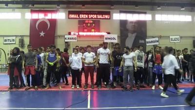 Bitlis'te 'Wushu Sanda Turnuvası' başladı