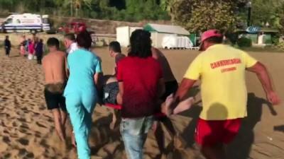kalp krizi -  Denizde fenalaşan Rus turisti vatandaşlar kurtardı