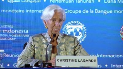 konferans - IMF Başkanı Christine Lagarde'den 'Kaşıkçı' yorumu - BALİ