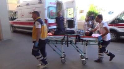 Siverek'te rehabilitasyon merkezinin servisi kaza yaptı: 1'i ağır 4 yaralı