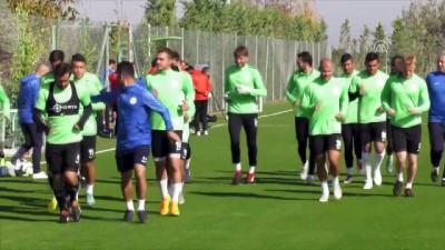 Atiker Konyaspor'da Çaykur Rizespor maçı hazırlıkları