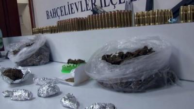 uyusturucu madde -  Bahçelievler'de 10 bin lira değerinde uyuşturucu madde ele geçirildi
