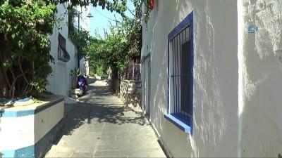 destina -  Bodrum'un mavi pencereli beyaz evlerinin sırrı ortaya çıktı