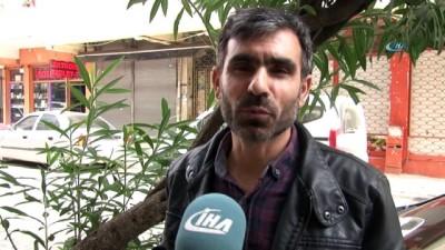 Güngören'de askeri kamuflaj desenli 'Mekik kelebeği' bulundu