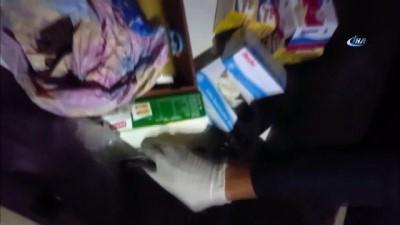 uyusturucu madde -  Narkotik operasyonda cephanelik ele geçirildi