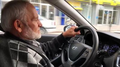 67 yaşında ehliyet sahibi oldu