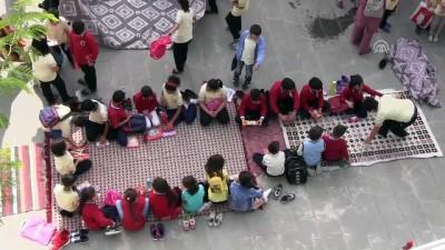 farkindalik - Bin 200 öğrenci aynı anda resim çizdi - SİİRT