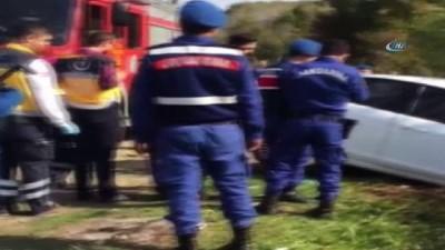 amator -  Cenaze yolunda feci kaza: 1 ölü, 2 yaralı