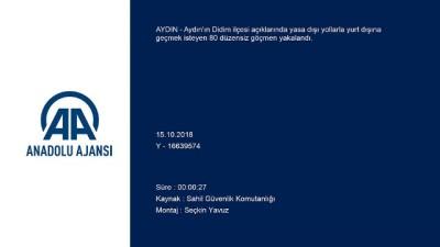 Didim'de 80 düzensiz göçmen yakalandı - AYDIN