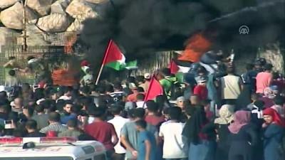 mermi - Gazzeliler, İsrail ablukasının kaldırılması talebiyle sahile akın etti (2) - GAZZE