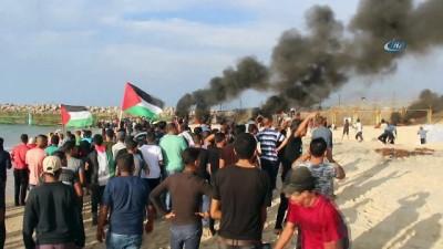 isgal -  - İsrail Askerleri Gerçek Mermi Kullandı: 80 Filistinli Yaralı