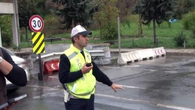 - İstanbul polisi drone ile trafik denetimine devam ediyor