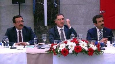 kamu denetciligi -  Kamu Başdenetçisi Malkoç, kanaat önderleri ile bir araya geldi