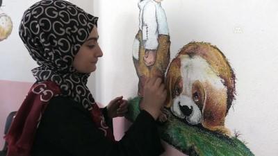 Lise öğrencileri çocukların dünyasını renklendiriyor - MUŞ
