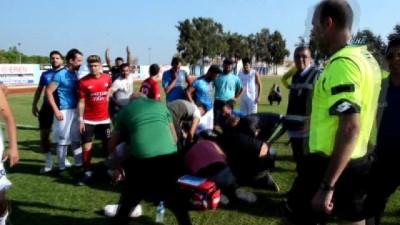 amator -  Maçın hakemi futbolcunun hayatını kurtardı