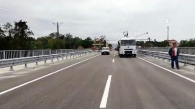 sosyal medya - Ordu'da selin yıktığı Cevizdere Köprüsü ulaşıma açıldı