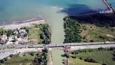 sosyal medya -  Ordu'da selin yıktığı köprü trafiğe açıldı