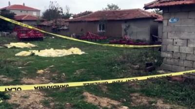guvenlik onlemi -  - Tekirdağ'da patlamamış top mermisi bulundu