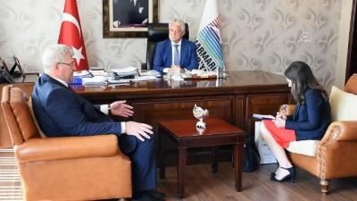 Ukrayna'nın Ankara Büyükelçisi Sybiha Marmaris'te - MUĞLA
