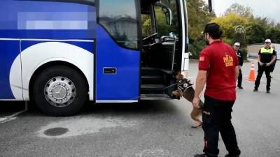 uyusturucu madde - Yolcu otobüsünde 106 kilogram eroin ele geçirildi - KOCAELİ