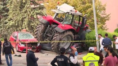 Başkentte 'traktör' alarmı (5) - ANKARA