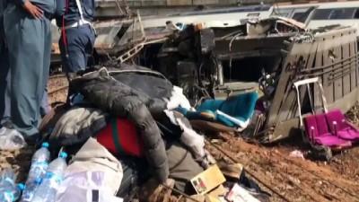 Fas'ta tren kazası: 4 ölü - RABAT