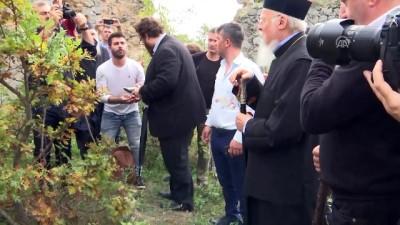 Fener Rum Patriği Bartholomeos'tan Samsun'da kilise ziyareti