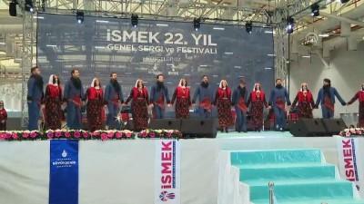 İSMEK'in '22. Yıl Genel Sergi ve Festivali' açıldı - İSTANBUL
