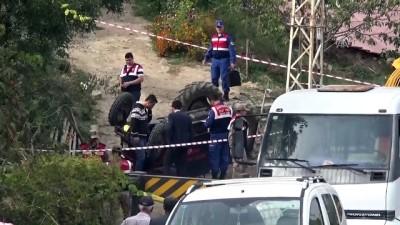 Traktör devrildi: 1 ölü - AMASYA