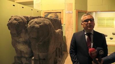 2800 yıllık 'Çift Aslan' heykeli evine kavuştu - NİĞDE