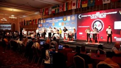 40. Dünya Bilek Güreşi Şampiyonası - ANTALYA