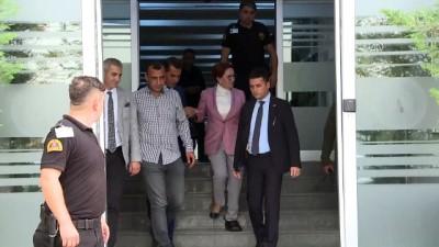 Akşener 'sanık' sıfatıyla savunma yaptı - ANKARA