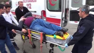 Edirne'de sıcak dakikalar...Şüphelilerle Yunus ekipleri arasındaki kovalamaca kaza ile bitti