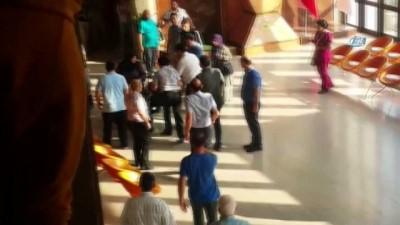 Güvenlik personeline saldırdılar, hastaneyi savaş alanına çevirdiler